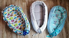 Textil - Obojstranné hniezdo pre bábätko - 12478861_