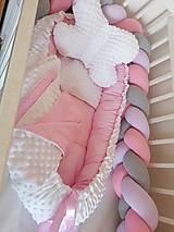 Textil - Obojstranné hniezdo pre bábätko - 12478863_