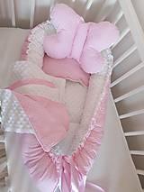 Textil - Obojstranné hniezdo pre bábätko - 12478864_