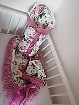 Textil - Obojstranné hniezdo pre bábätko - 12478866_