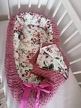 Textil - Obojstranné hniezdo pre bábätko - 12478867_