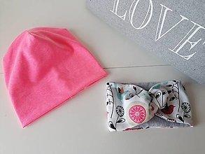 Detské čiapky - Detská čiapka - 12478808_