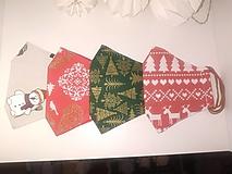 Rúška - Vianočné rúško - 12478802_