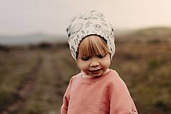 """Detské čiapky - Čiapka """"lesné zvieratá"""" - 12489277_"""