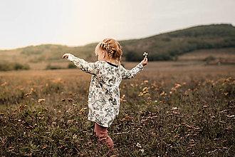 """Detské oblečenie - Oversize šaty """"lesné zvieratá"""" - 12489244_"""