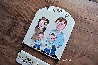 Tabuľky - rodinná tabuľka - 12486410_
