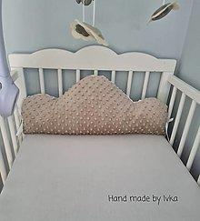 Textil - Obláčik do detskej postieľky - zástena - 12485220_
