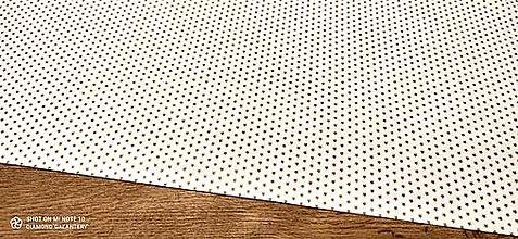 Textil - Bavlnená látka -Hviezdičky zlaté- cena za 10 cm - 12486095_