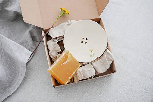 Nádoby - keramická darčeková sada do kúpeľňe - 12487957_