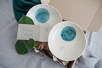 Nádoby - keramická darčeková sada spoločné raňajky - 12487542_