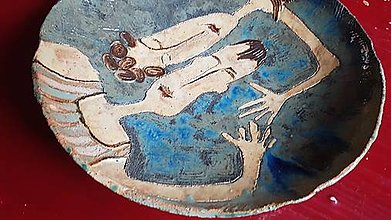 Nádoby - Keramika, Mísa Idylka - 12485796_