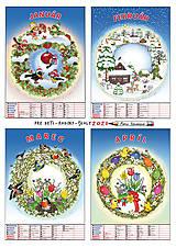 Hračky - Kalendár A3 pre RODINY S DEŤMI - 12488195_