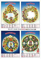 Hračky - Kalendár A3 pre RODINY S DEŤMI - 12488197_