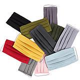 Rúška - Antibakterialne 100% ľanové rúško s oceľovým vláknom na pritlačenie na nos - 12489316_
