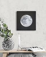 """Obrazy - Obraz """"Strieborný mesiac"""" - 12486775_"""