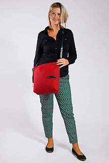 Veľké tašky - Dámská taška MARILYN RED 2 - 12488252_
