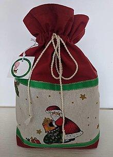 Úžitkový textil - Mikulášske vrecká - 12486630_