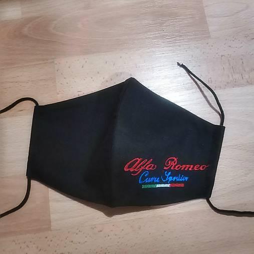 Pánske rúško Alfa Romeo2