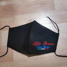 Rúška - Pánske rúško Alfa Romeo2 - 12487608_