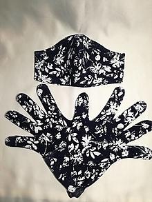 Rúška - Ochranné rúško a rukavice - sada - 12485952_