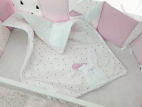 Textil - Deka PURE Latte Pink 70x90cm trojvrstvová - 12493745_