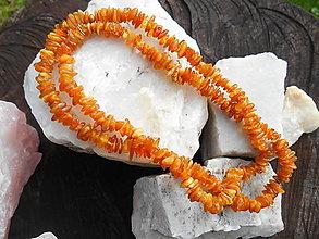 Náhrdelníky - suns in garden-jantár-náhrdelník (náhrdelník-jantár-chirurg.oceľ) - 12492879_