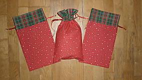 Úžitkový textil - Mikulášske/vianočné vrecúška na drobnosti - 12492534_
