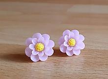 Náušnice - Kvety napichovačky 1 (1,8cm) - 12493596_