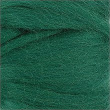 Suroviny - Vlna na plstenie Merino Green / Zelená - 12491074_