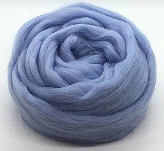 Suroviny - Vlna na plstenie Merino Modrá svetlá - 12491111_
