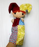 Hračky - Maňuška pajác - s cinkajúcou čiapkou - 12490328_