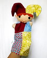 Hračky - Maňuška pajác - s cinkajúcou čiapkou - 12490329_