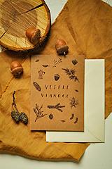 Papiernictvo - Vianočná pohľadnica - 12494205_