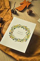 Papiernictvo - Vianočná pohľadnica - 12494217_