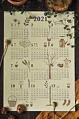 Papiernictvo - Kalendár A3 záhrada - 12494259_