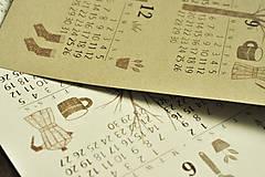 Papiernictvo - Kalendár A3 záhrada - 12494261_