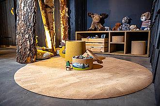 Úžitkový textil - Korkový koberec NATURAL - 12493942_