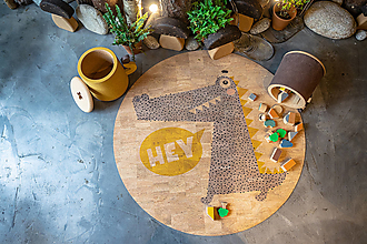 Úžitkový textil - Korkový koberec KROKIE - 12493972_