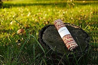 Úžitkový textil - Voskovaný obrúsok Voskáč 38x50cm (Vianočný multilingvista) - 12493555_