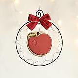 Dekorácie - jabĺčko - 12496988_
