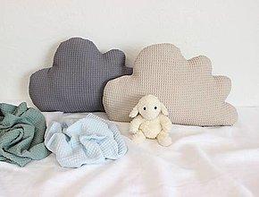 Textil - vankúšik Obláčik (chlapček) - 12498027_