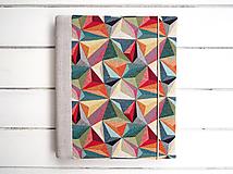Papiernictvo - Geometrický fotoalbum - 12497878_