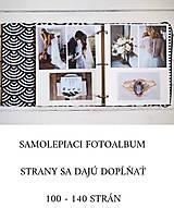 Papiernictvo - Geometrický fotoalbum - 12497893_
