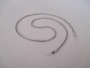 Iné šperky - Retiazka na okuliare - bez dekorácie - chirurgická oceľ - 12495197_