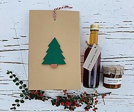 """Potraviny - Vianočná darčeková krabička """"basic"""" - 12496474_"""