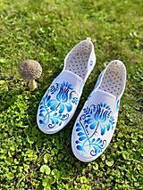 Obuv - ♥ Ručne maľované tenisky ♥ - 12498705_