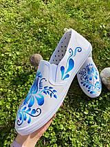 Obuv - ♥ Ručne maľované tenisky ♥ - 12498803_