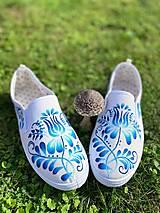 Obuv - ♥ Ručne maľované tenisky ♥ - 12498810_