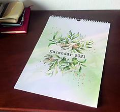 Papiernictvo - Trojbodkový kalendár 2021 nástenný - 12496518_