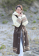 Kabáty - kabát  Alžbeta 2 - 12498619_